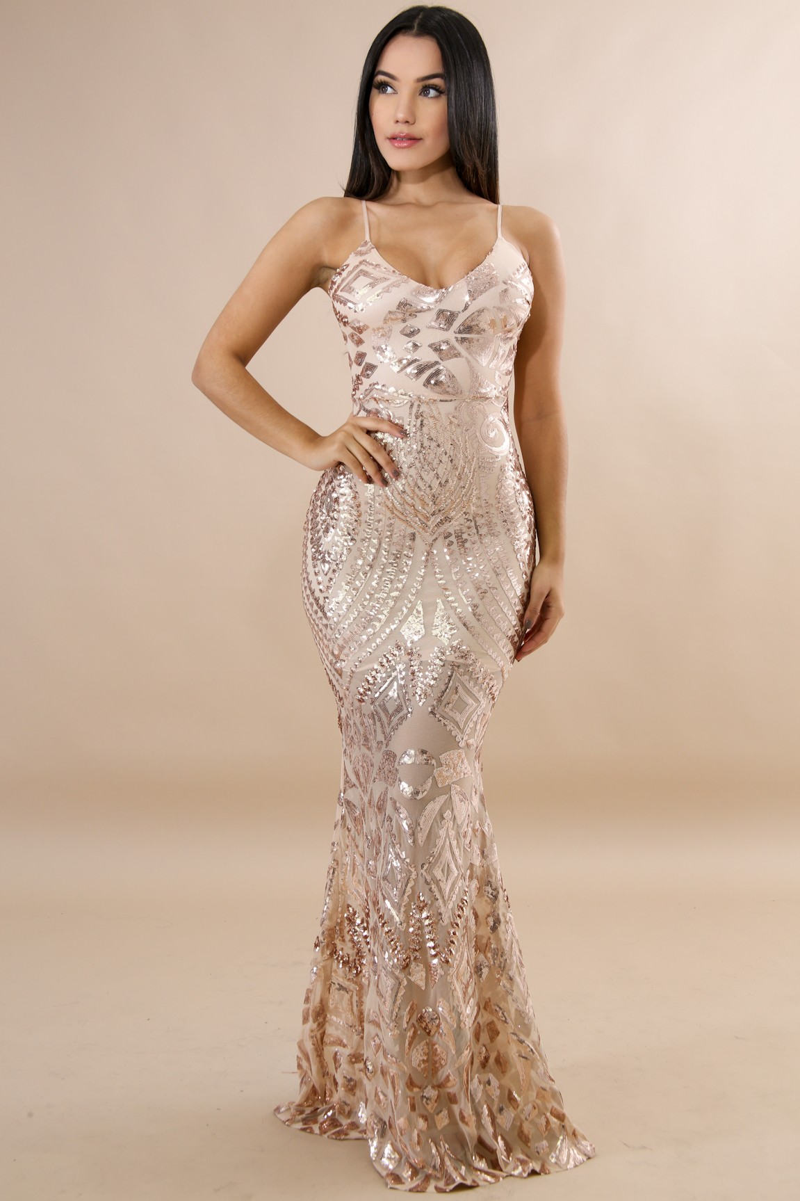 10a35279efe Dazzling Mermaid Sequin Dress