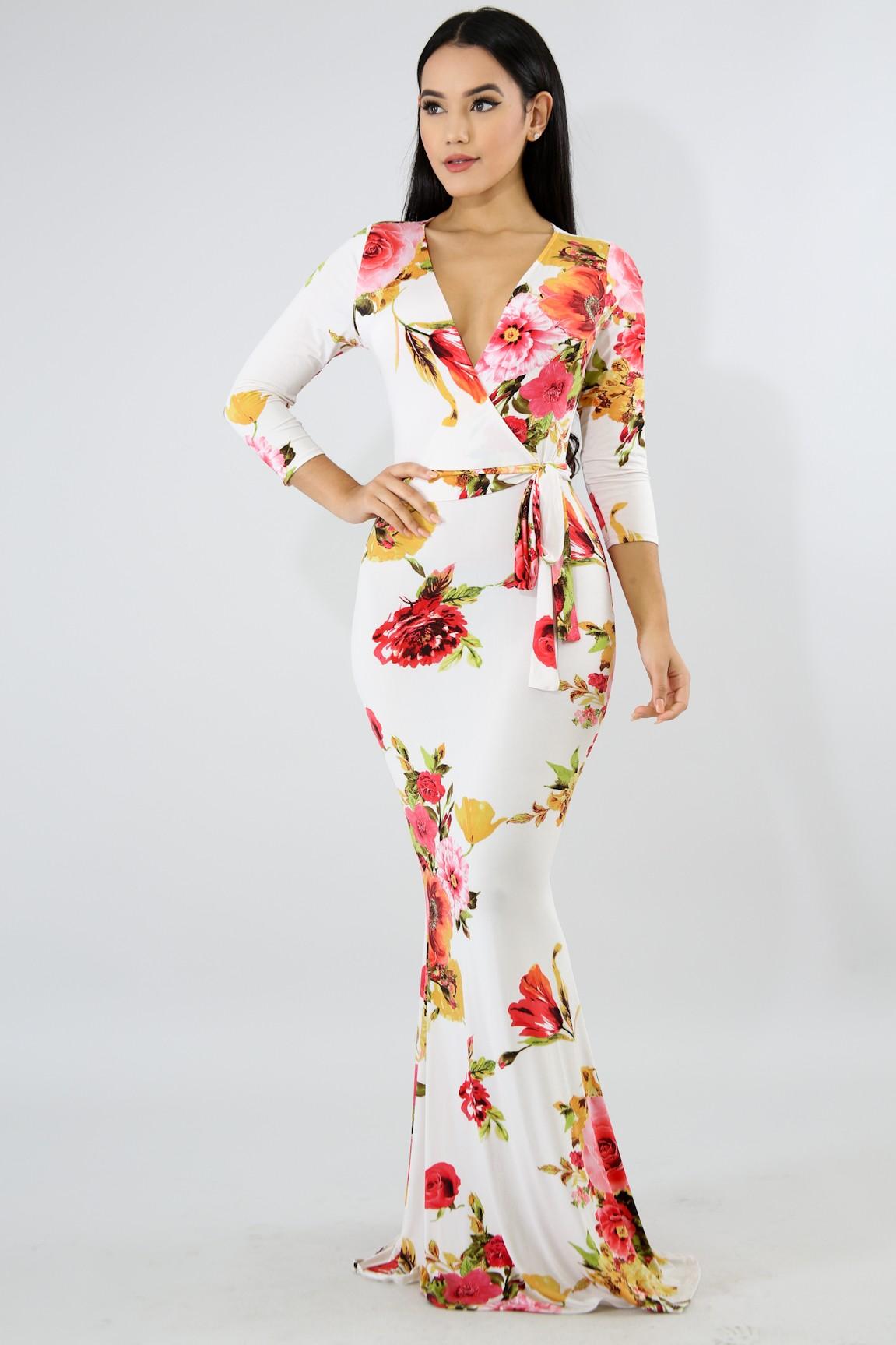 d8ba4cb6b94 Floral Maxi Dress