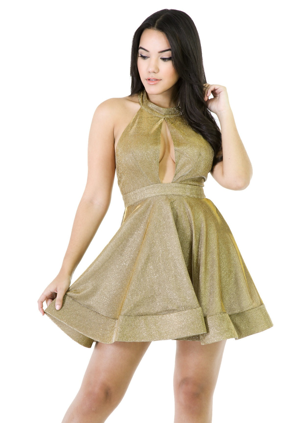Shimmer Party Dress