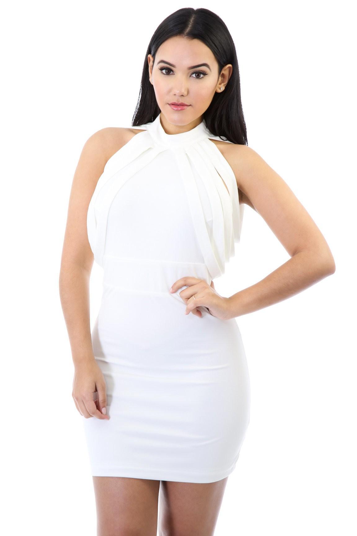 Sliced Straps Dress