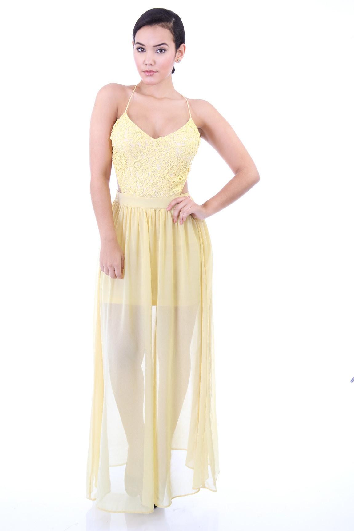Queen Wavy Maxi Dress
