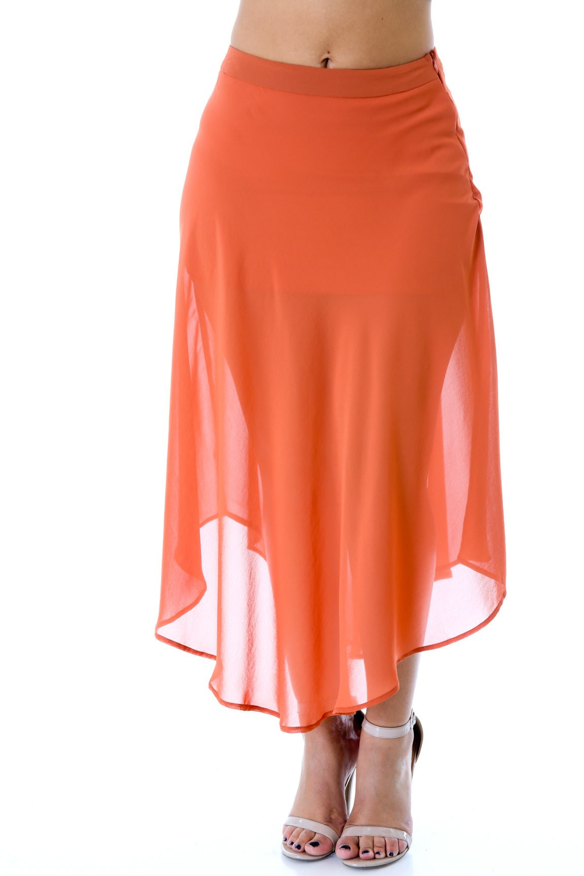 Fit Flared Skirt