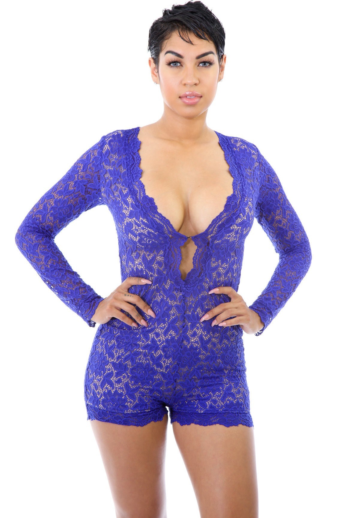 Fully Lined out Crotchet Romper