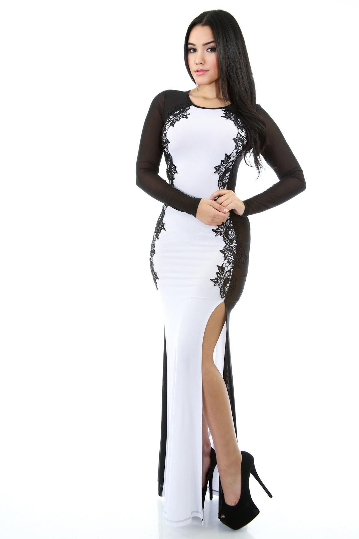 Simple Beauty Kills the Game Maxi Dress