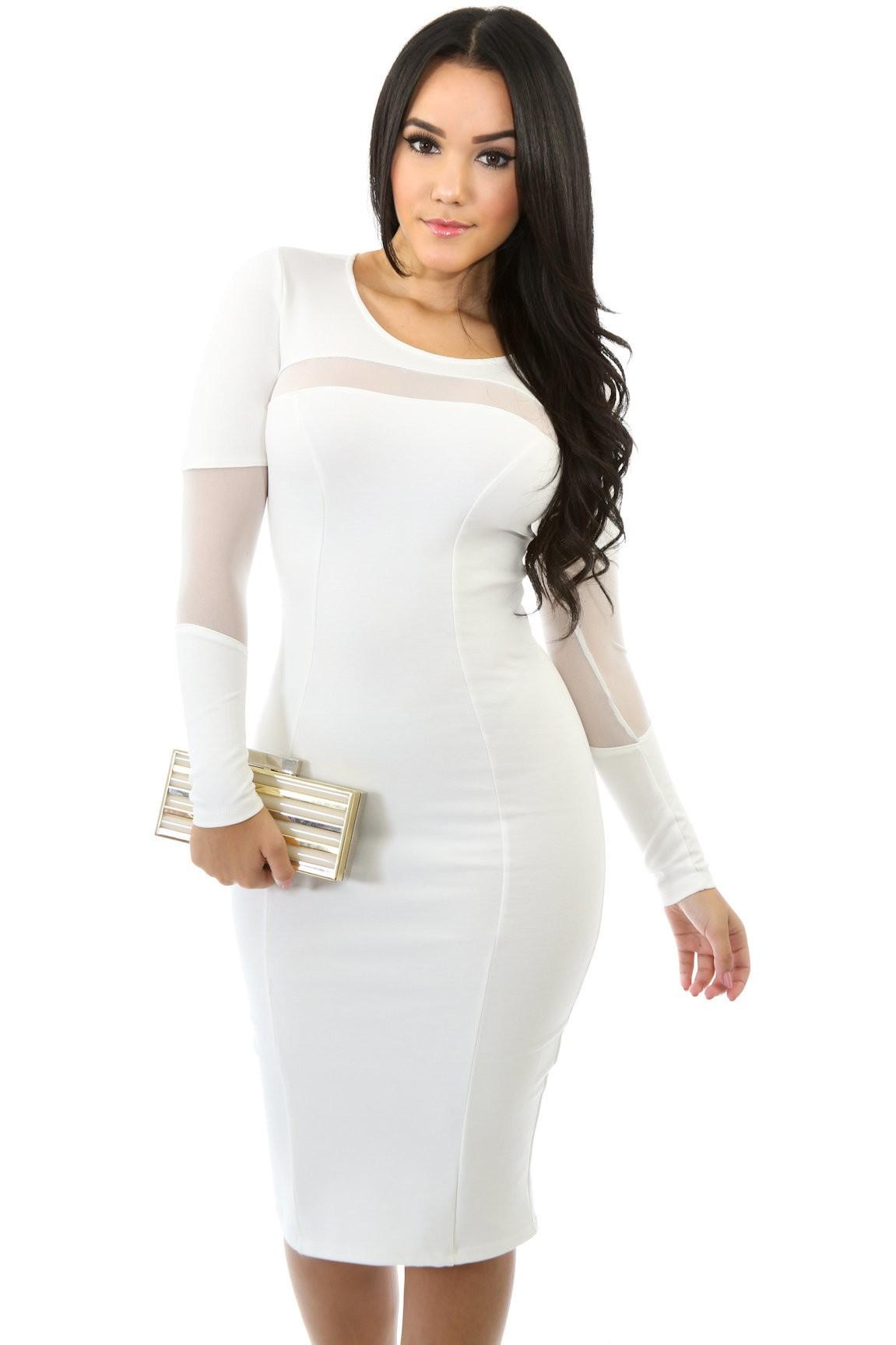 Mesh Replacement Dress
