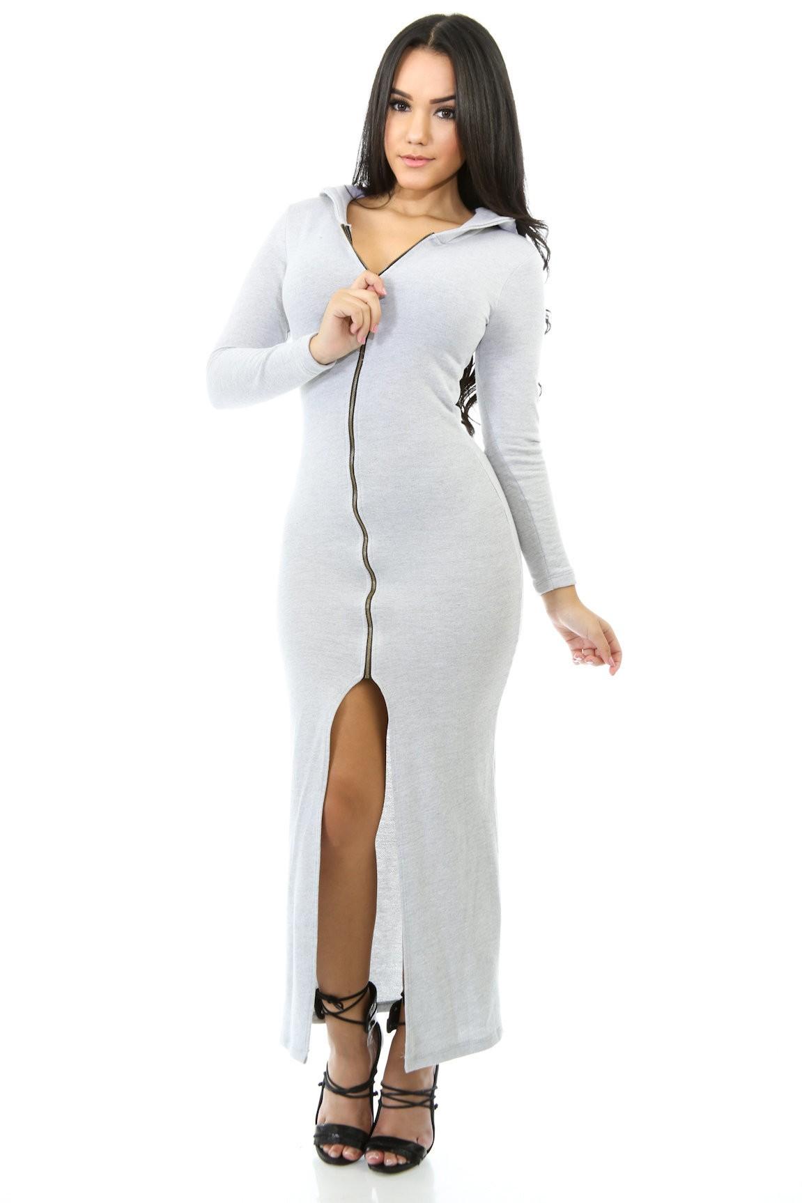 Hoodie Ways Dress