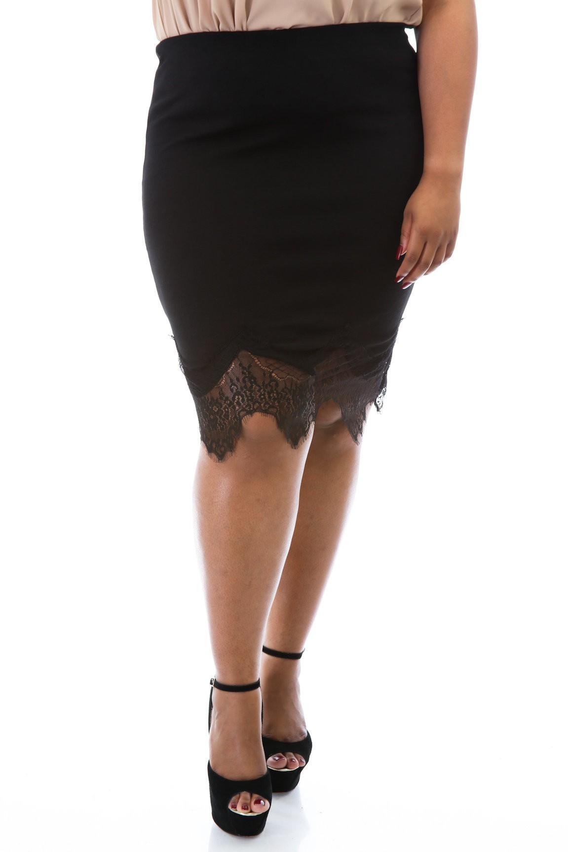 Laced out Tea Cup Skirt