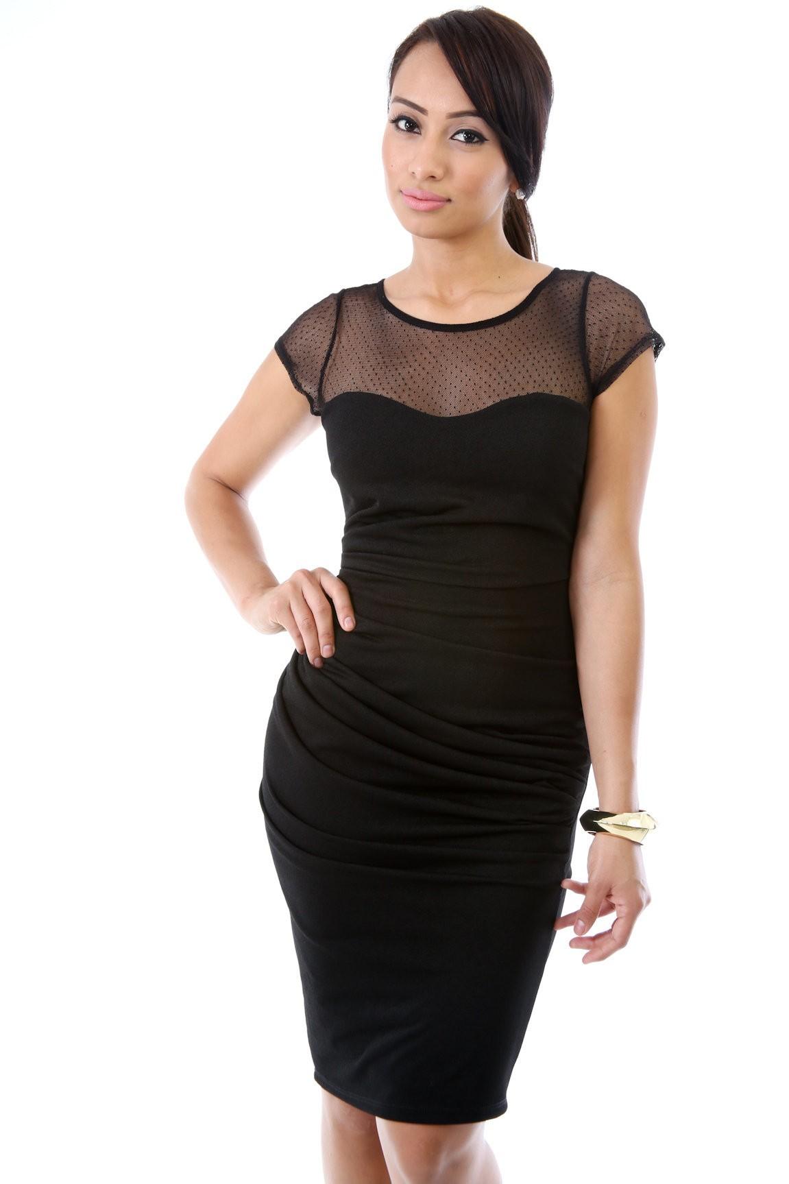 Miss Mesh Dress