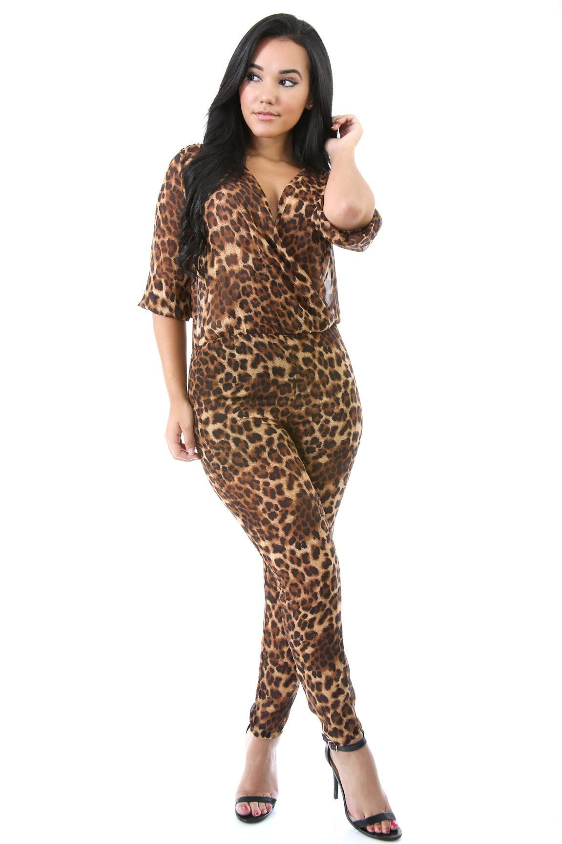 Leopard Madness Jumper