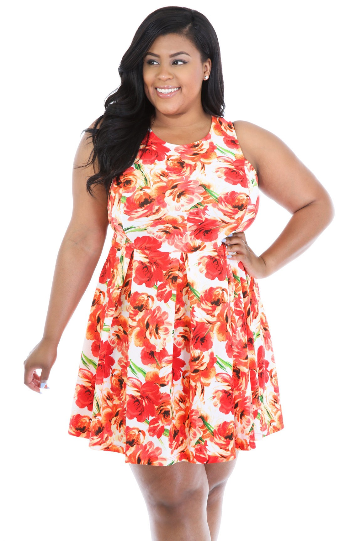 Exotic Rose Dress