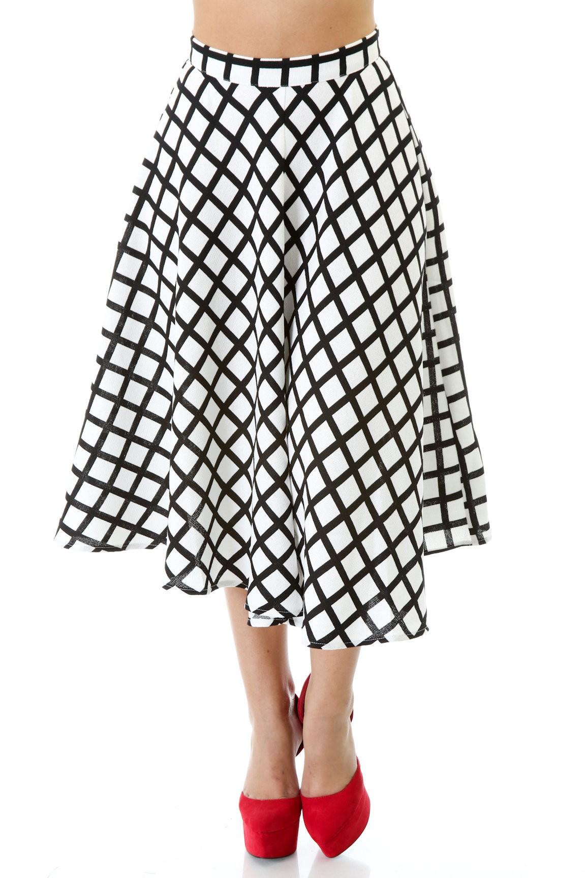 Black Chalk Skirt