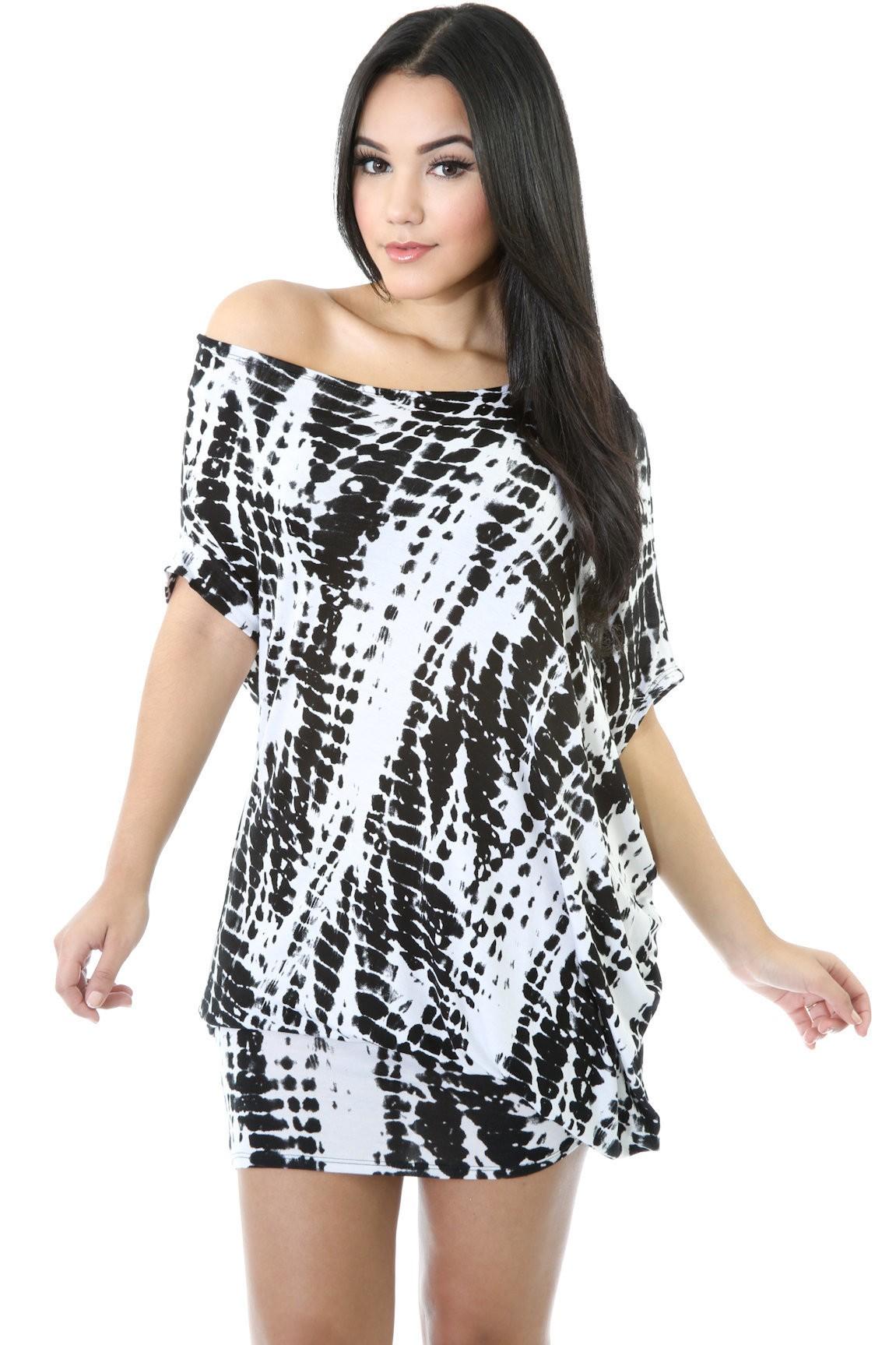 Black Tiles Dress