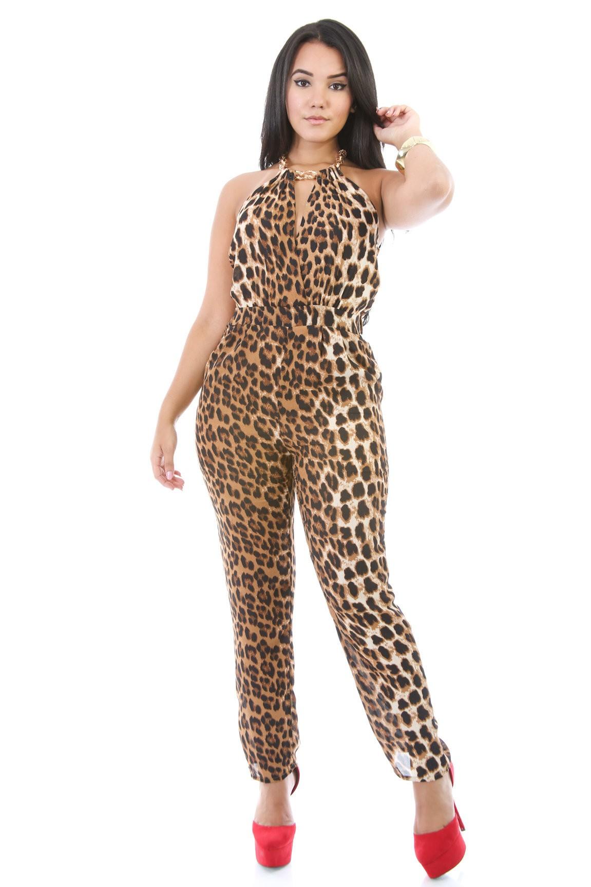 Cheetah Print Jumper