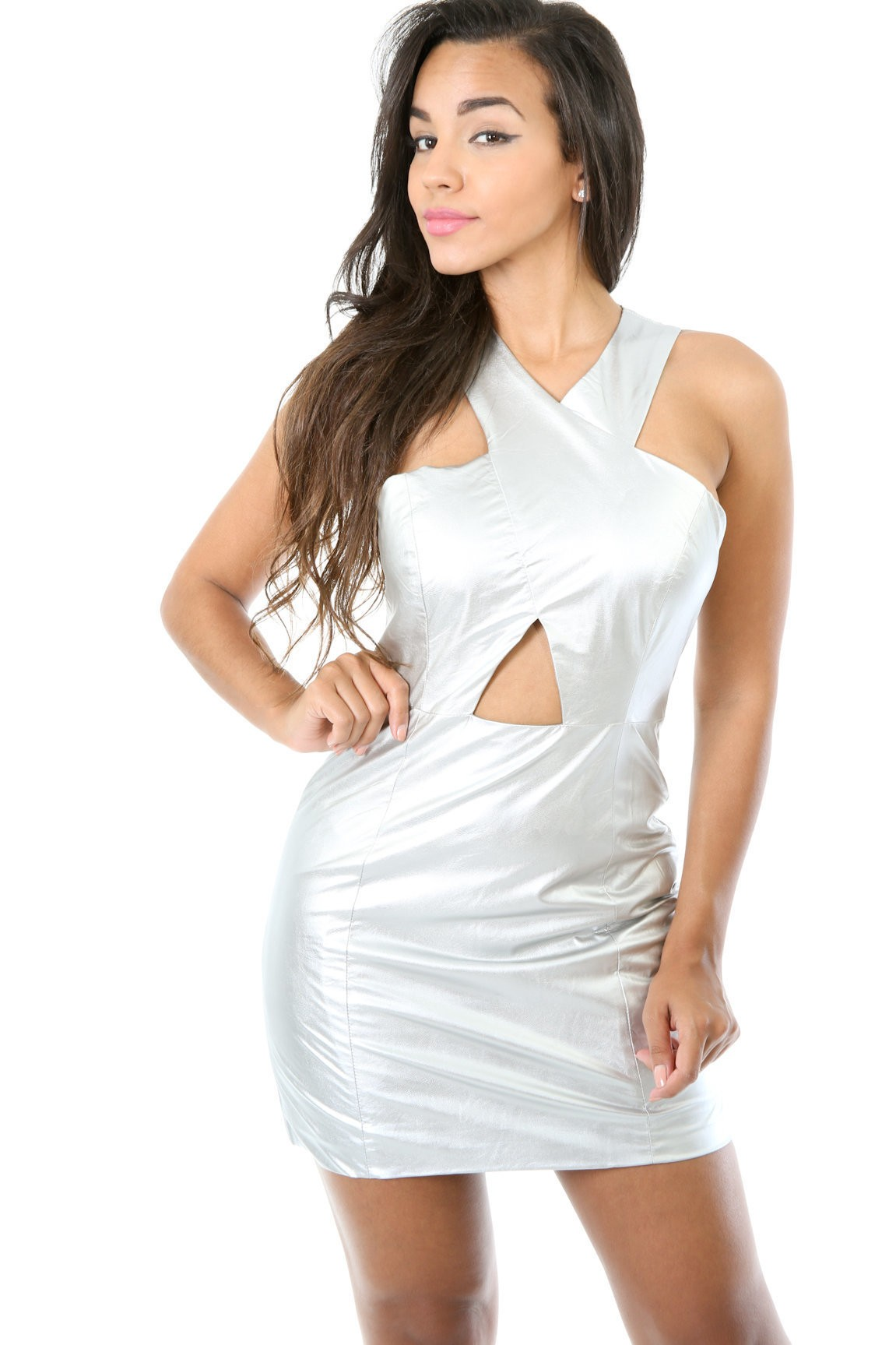 Glossy Touch Dress
