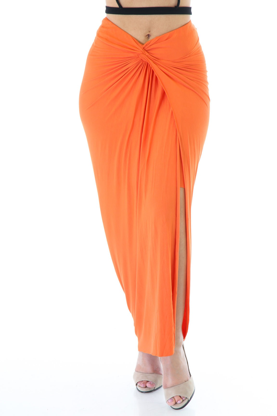 Norm Overlay Maxi Skirt