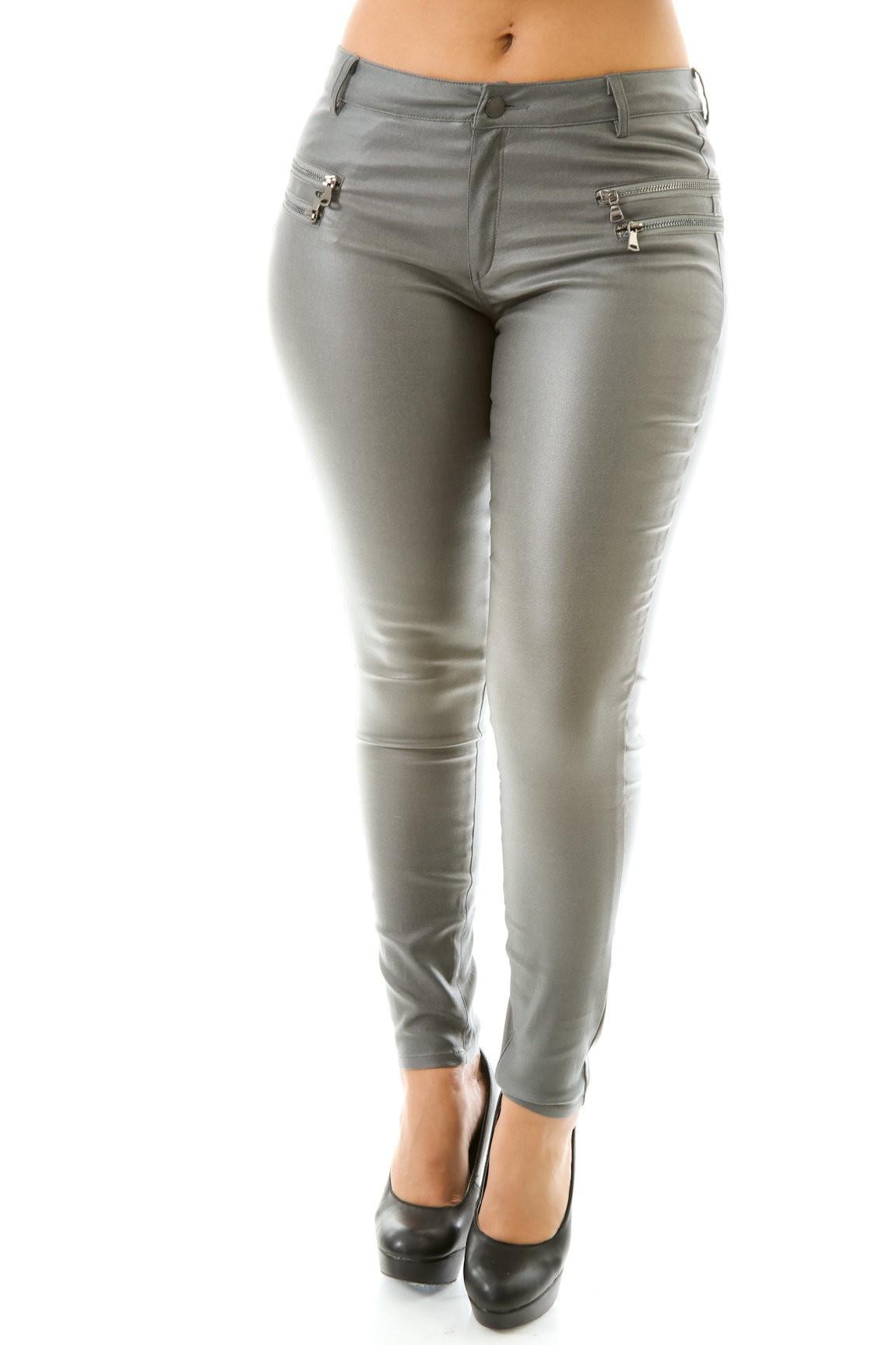Leatherette Mystic Pants