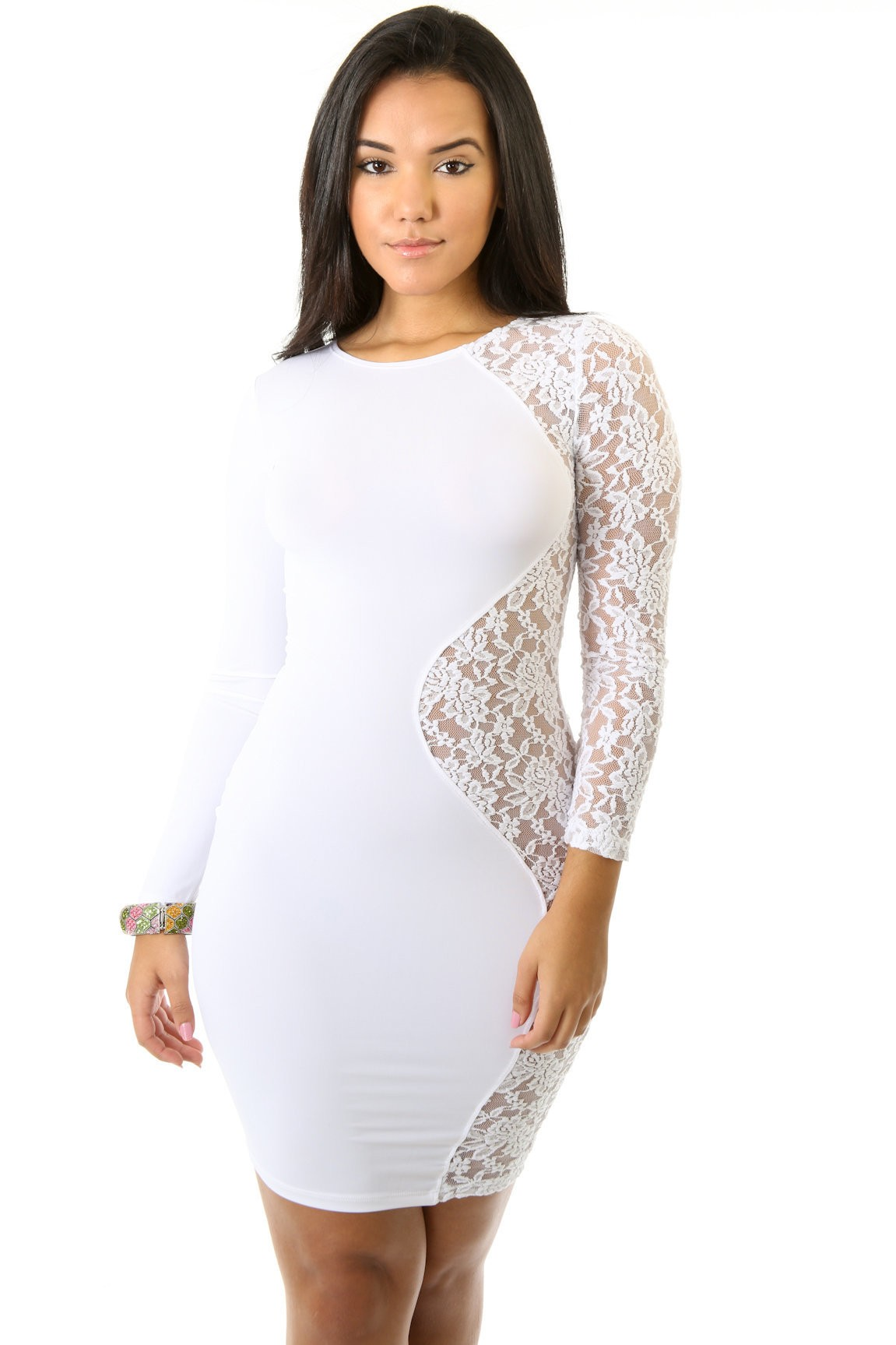 Laced Sides Dress
