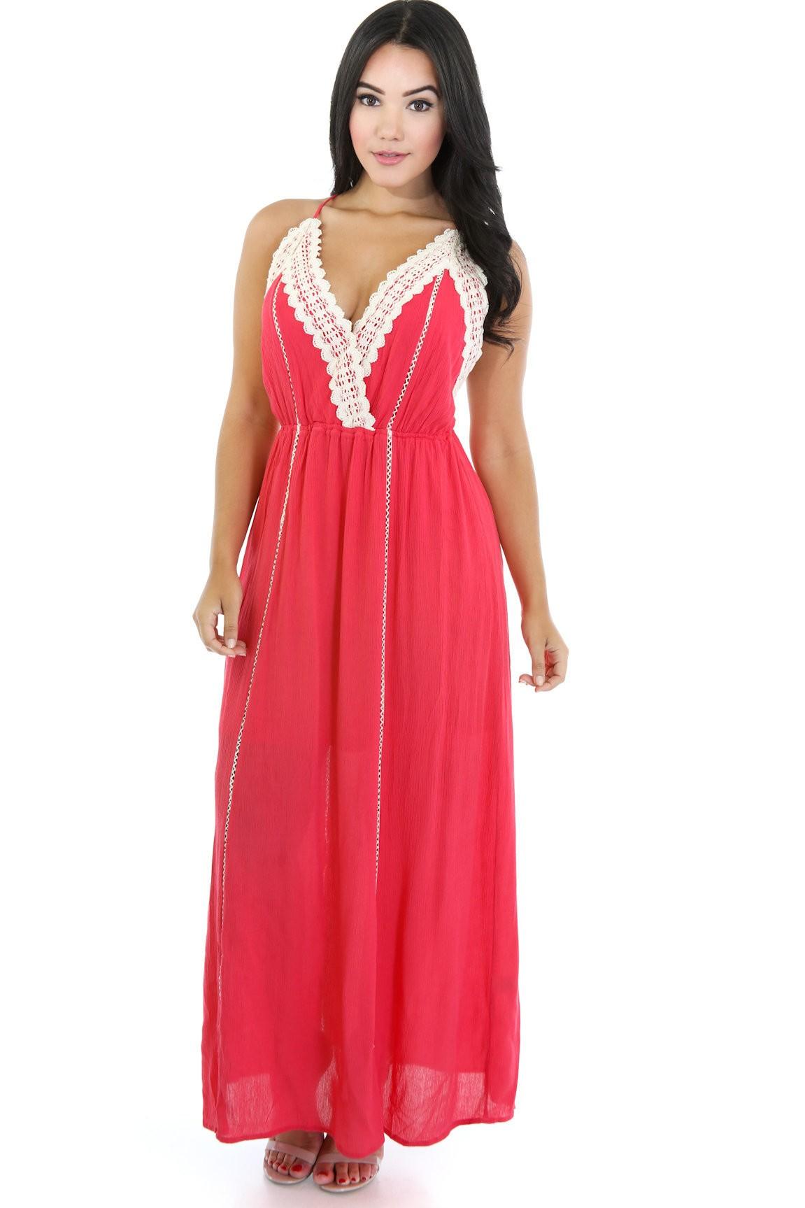 Crotchet Crone Maxi Dress