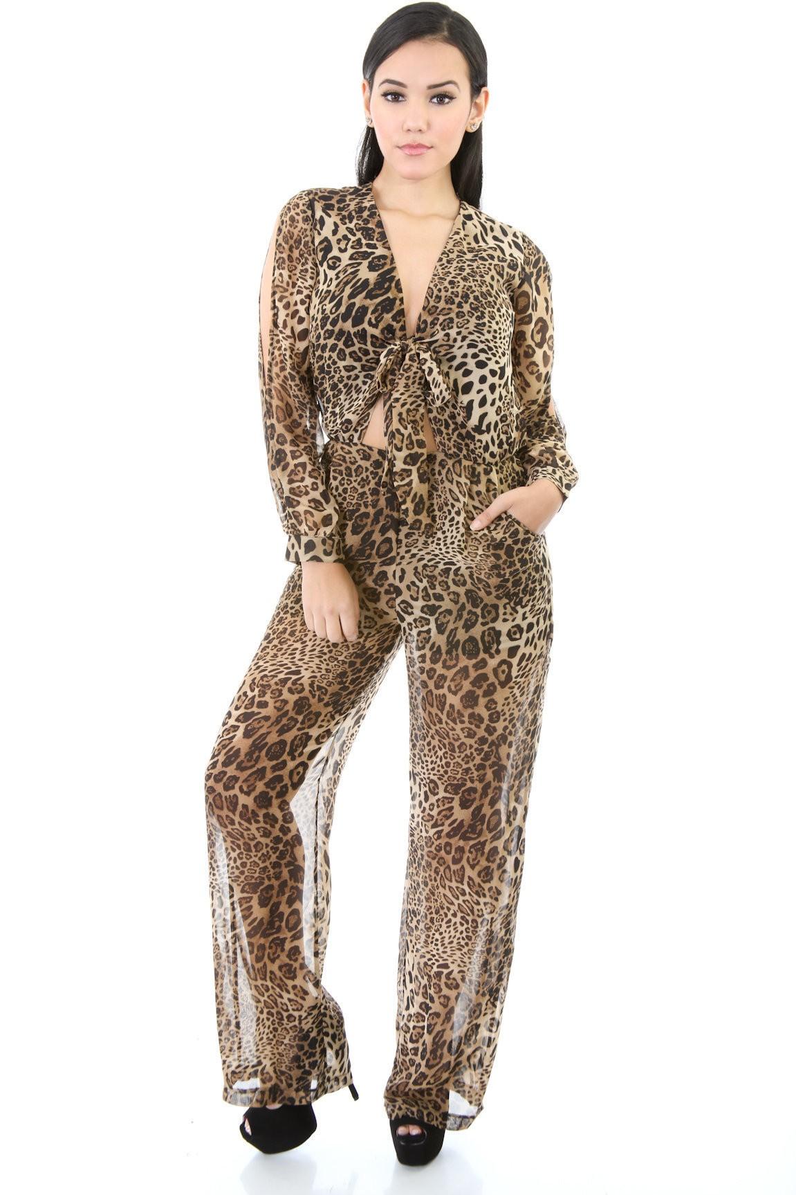 Cheetah Loosy Jumper