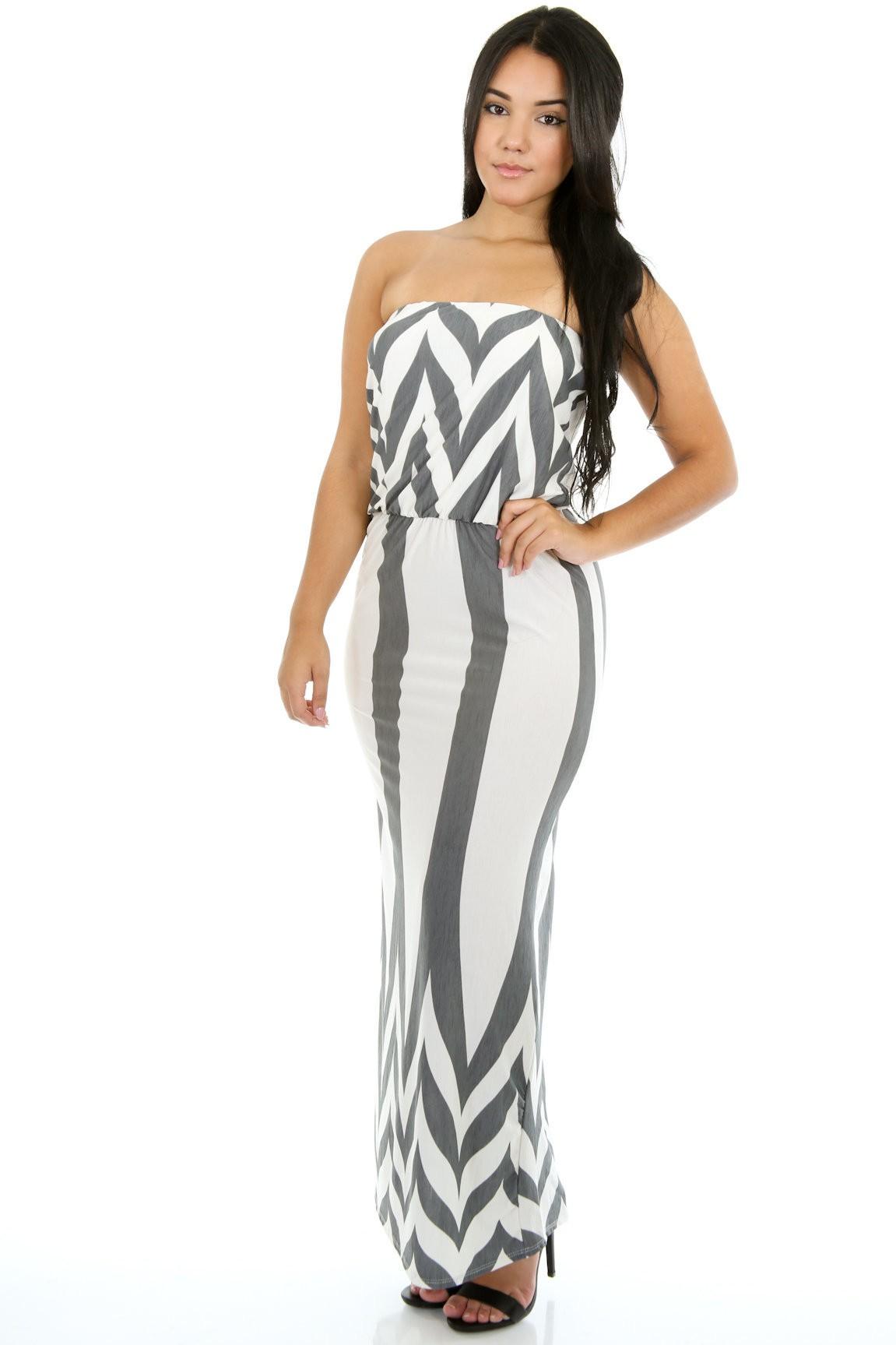 Breakdown Maxi Dress