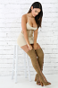 Suede Lace Up Chunky Heel Over The Knee Boots