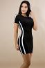 Glitter Shine Knit Body-Con Dress