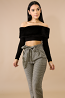 Faux Fur Crop Top