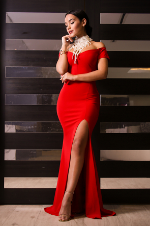 Dainty Maxi Mermaid Dress