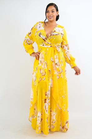 Lilium Blossom Maxi Dress