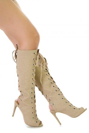 Double Tie Boots
