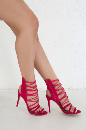 Band Band Suede Heels