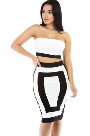 Double The Trouble Skirt Set