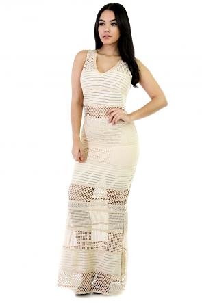 Net Girl Maxi Dress