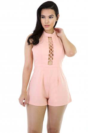 Lacey Bodice Girly Romper