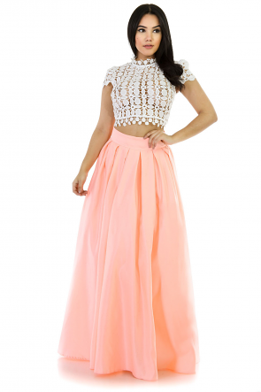 Obsessed Flare Maxi Skirt