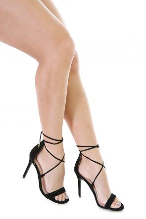 Ladys  Faux  Suede Shoes
