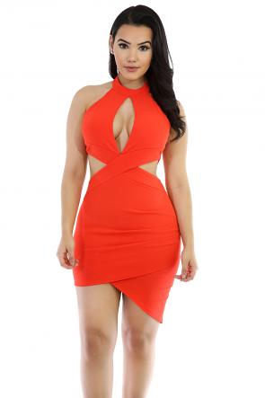 Mini Me Stretchy Styled Dress
