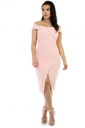 Stretchy Love'In Bandage Midi Dress