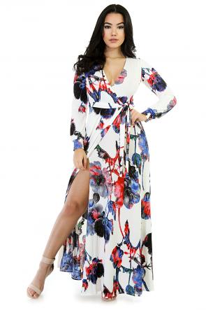 Island Maxi Stretchy Dress