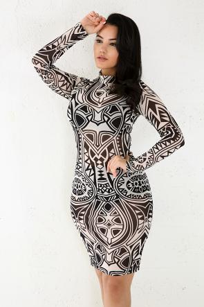Sleeveless Stretchable Midi Dress