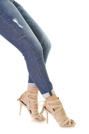 Knock Out Strap Heels