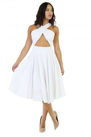 Plastic Chick Flare Dress