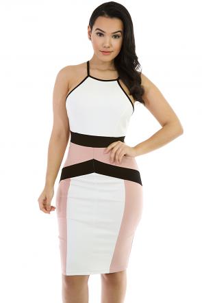 Silhouette Midi Stretchy Dress