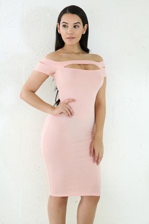 Sophisticated Midi Bodycon Dress
