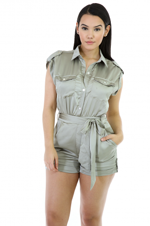Silk Juicy Slim Romper