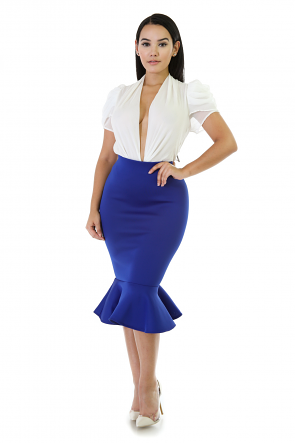Phat Mermaid Midi Skirt