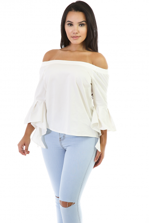 Strapless Loose Flowy Top