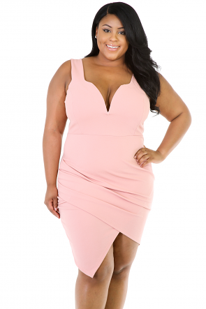Sleeveless Bodycon Quenched Dress