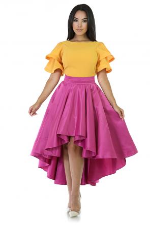 Ballerina Flare Mini Skirt