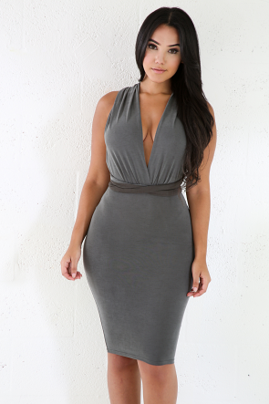 Bodycon Fit Stretchy Dress
